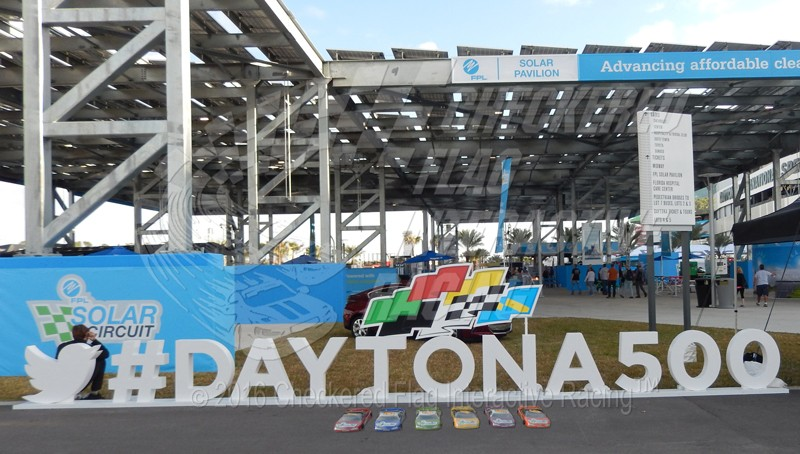 Remote control NASCAR-style racing at the Daytona 500, presented by Checkered Flag Interactive Racing